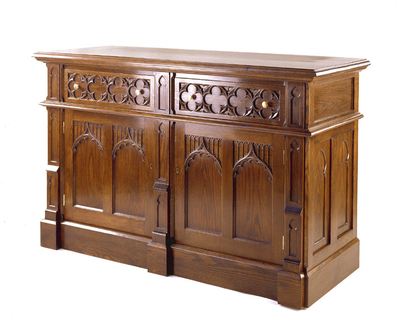 Medieval Reproduction Beds Home Design Ideas House  : Gothic Buffet from housedesignimages.us size 800 x 638 jpeg 91kB