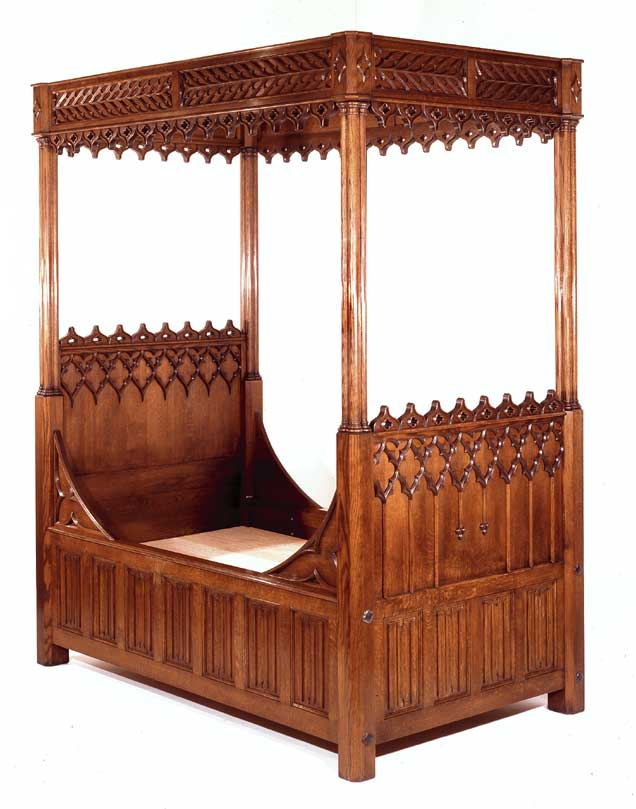 Gothic Revival Style Furniture 636 x 809